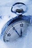 冻结的时间 库存照片