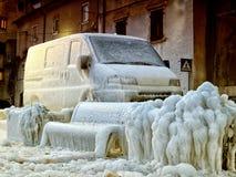 冻结的欧洲 库存图片