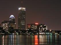 冻结的波士顿 免版税库存照片