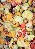 冻结的混杂的蔬菜。 免版税库存照片