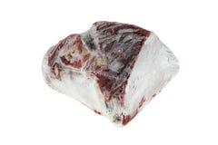 冻结的牛肉 库存照片