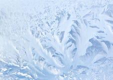 冻结的玻璃纹理 免版税库存图片