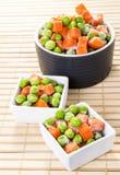 冻结的蔬菜混合 免版税库存照片