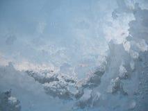 冻结的视窗冬天 免版税库存图片