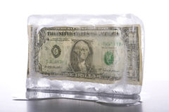 冻结的资产 免版税库存照片