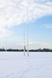 冻结的间距 库存图片