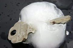 冻结的2个资产 免版税库存照片