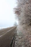 冻结路 库存照片
