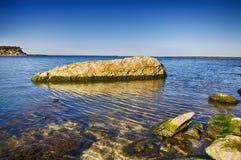净水湖在得克萨斯 免版税库存照片