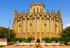 洁净玛丽的大教堂天视图  免版税图库摄影