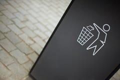 洁净的标志 免版税库存图片