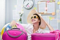 准备好的假期 免版税库存图片