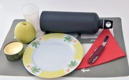 准备好的午餐 免版税库存照片