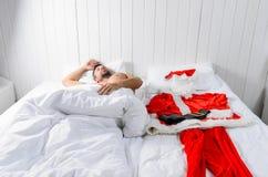 准备好的圣诞老人圣诞节 免版税图库摄影