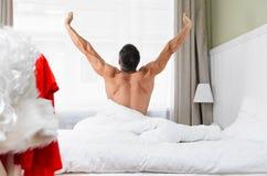 准备好的圣诞老人圣诞节 免版税库存图片