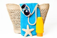 准备好的海滩 免版税图库摄影