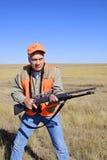 准备好的猎人 免版税库存照片