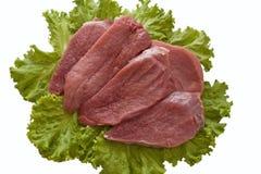 准备好的肉 免版税库存图片