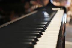 准备好的钢琴使用 免版税库存照片