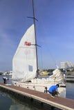 准备好的风船航行 库存照片