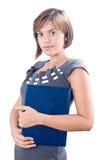 准备妇女年轻人的有吸引力的会议 库存照片