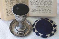 准备安息日的犹太教 图库摄影