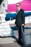 准备对商务旅行 免版税库存图片