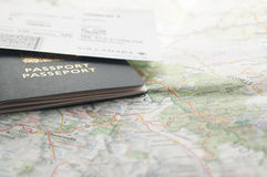 准备旅行 免版税库存图片