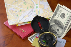 准备旅行 免版税库存照片