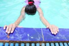 准备游泳 免版税图库摄影