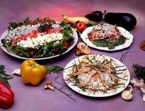 准备的食物 免版税库存照片