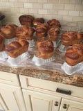 准备被烘烤的面包 免版税库存照片