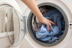 准备洗涤物 免版税库存照片