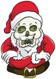 凉快圣诞老人的立场 库存图片