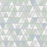 凉快的口气几何三角躺在了无缝的样式 皇族释放例证