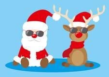 凉快的圣诞节 免版税库存图片