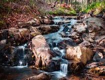 凉快的小河 库存图片