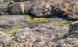 凉快的岩石 库存照片