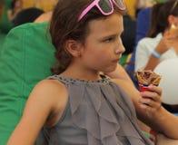 凉快的巧克力冰淇凌 免版税图库摄影