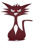 凉快的猫 免版税库存图片