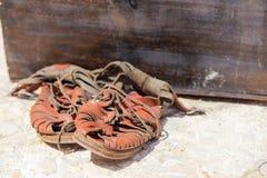 凉鞋罗马帝国 免版税库存图片