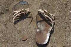 凉鞋 库存图片