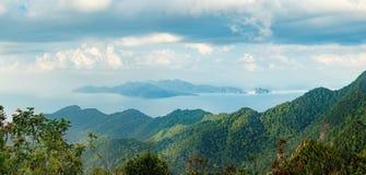 凌家卫岛海岛风景,马来西亚 库存照片