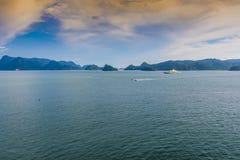 凌家卫岛群岛的小岛下午马来西亚 库存图片