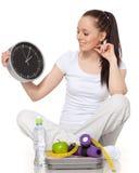 减肥时间 库存照片