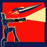 减速火箭力量 库存照片