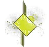 减速火箭徽章的设计 库存图片
