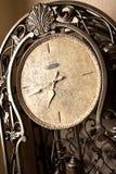 减速火箭时钟的永恒 免版税库存照片