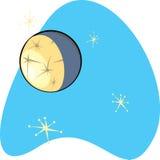 减速火箭水银的行星 免版税库存图片