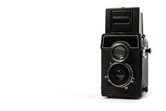 减速火箭照相机的影片 免版税库存照片